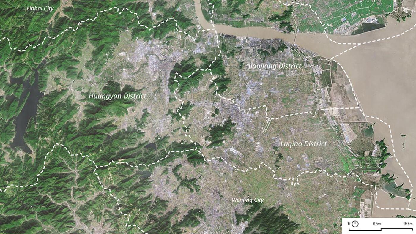 URA Huangyan Map