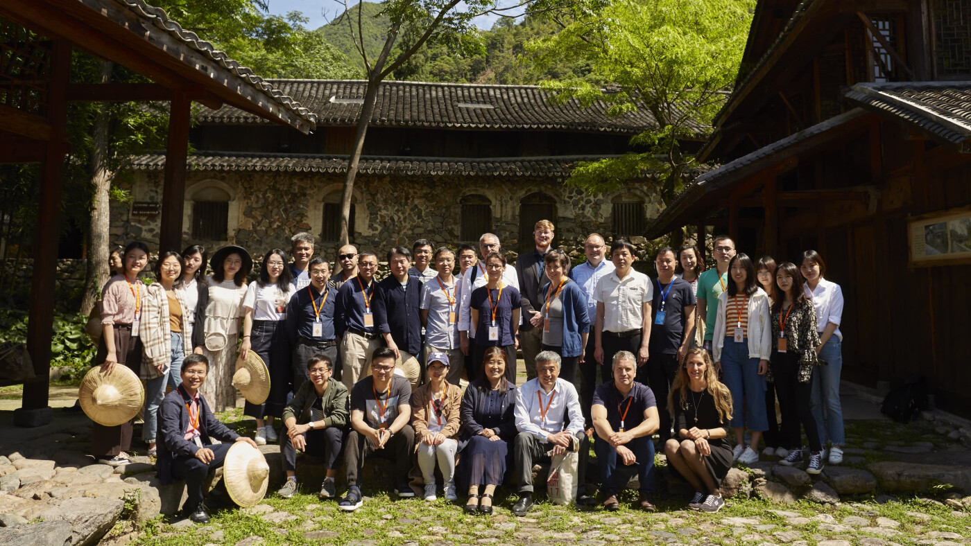 URA Research Team in Wuyantou Village, URA Kick-Off Workshop Huangyan-Taizhou, May 2019